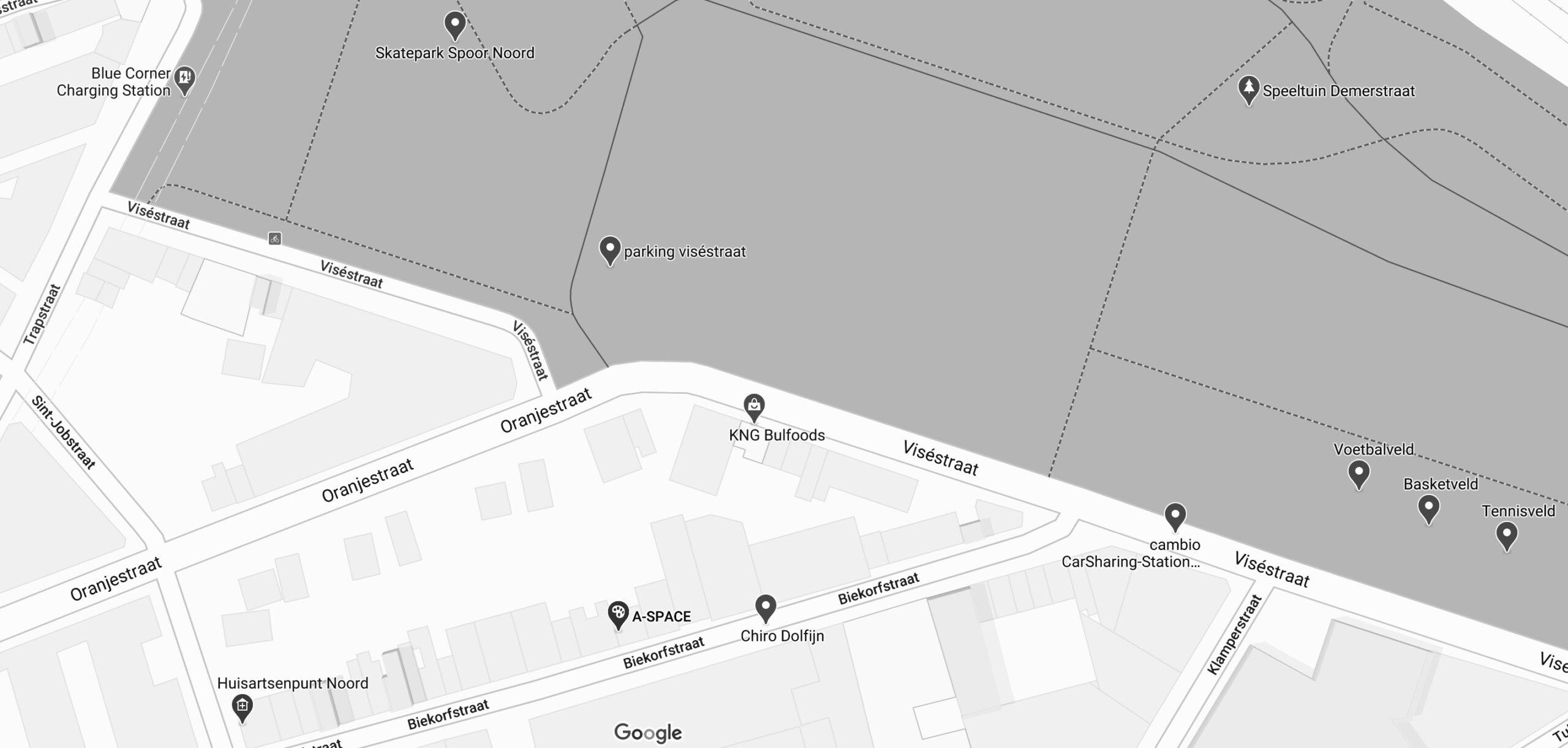 CONTACT Je vind ons in Antwerpen-Noord. A: Biekorfstraat 55, 2060 Antwerp, Belgium Voor alle vragen. E: info@a-space.be M: 32 (0)476 50 33 24